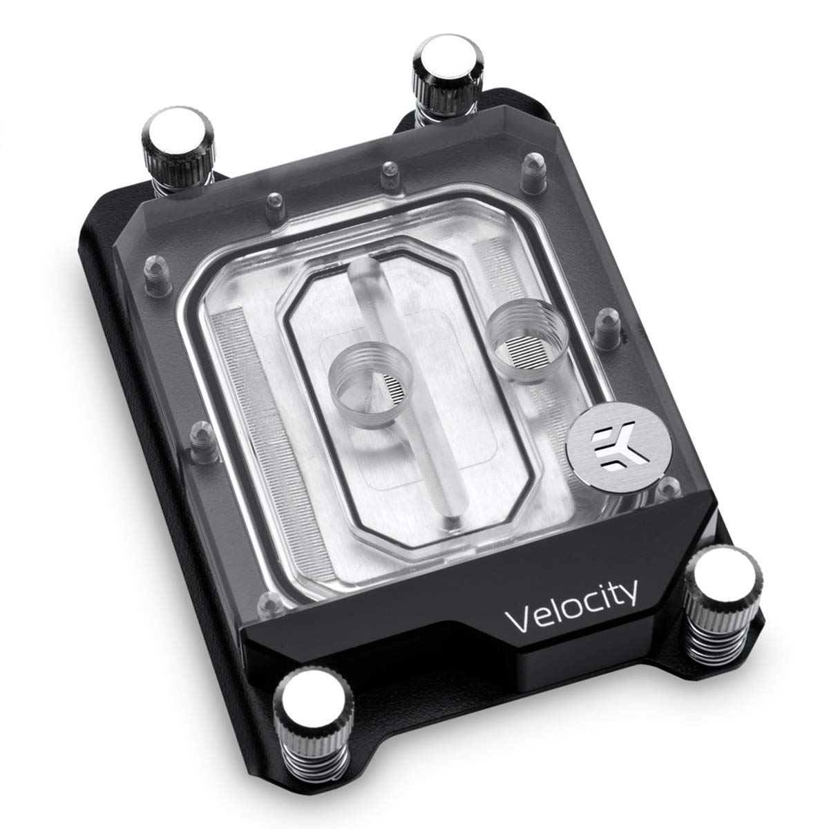 EKWB EK-Velocity sTR4 CPU Waterblock for AMD Ryzen Threadripper CPU, RGB/Nickel/Plexi