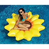 "72"" Water Sports Inflatable Sunflower Island Swimming Pool Raft"
