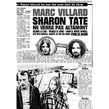 Sharon Tate ne verra pas Altamont: Une plongée USA 1969 par le maître français du noir... (Publie.rock)
