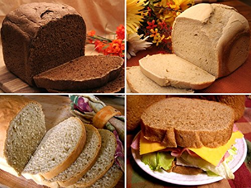 Rye Lover's Collection, Bread Machine Mixes (Deli Rye, American White Rye,New York, Black Russian)