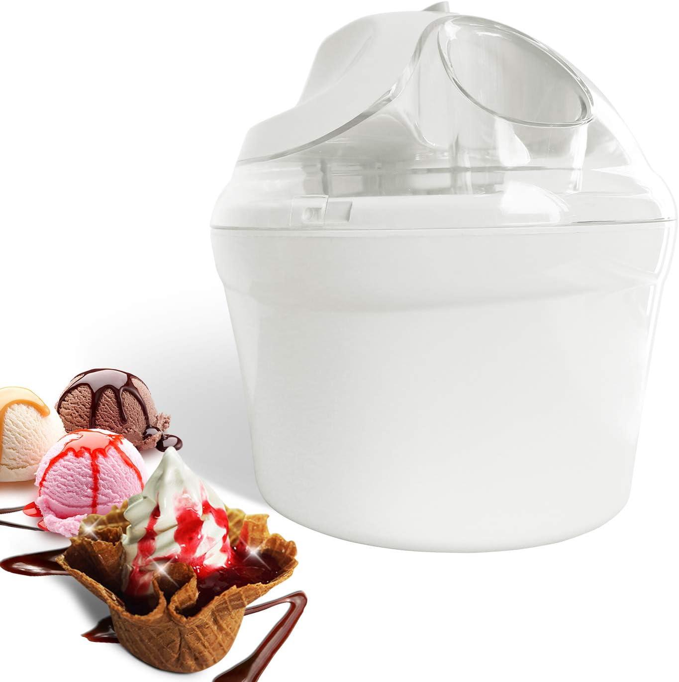 Leogreen Macchina Per Fare Yogurt Freddo Gelatiera Bianco Potenza 12 W Dimensioni Della Ciotola 20 X 20 X 13 5 Cm Amazon It Casa E Cucina
