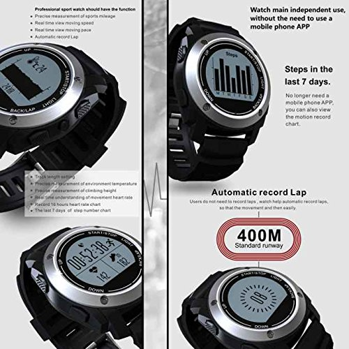 S928 Smart Watch, GPS Sport Smart Reloj, Bluetooth 4.0 ...