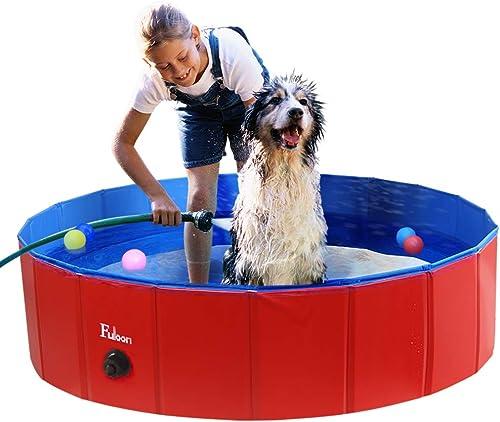 Fuloon-PVC-Pet-Swimming-Pool-Portable-Foldable-Pool