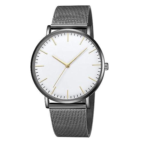 Amazon.com: Relojes Mujeres Nuevo Clásico Cuarzo Acero ...
