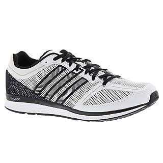 adidas Men's mana rc Bounce m Running Shoe, White/Black, 6 M US