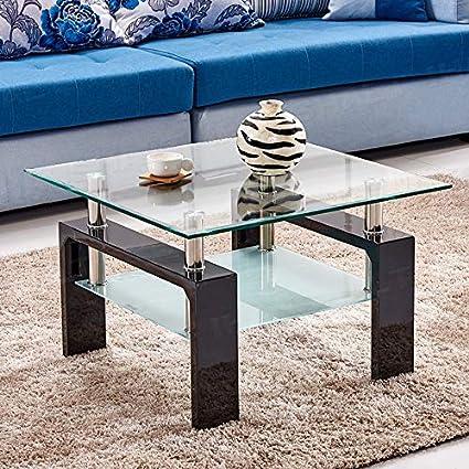 Narrow Glass Coffee Table 5