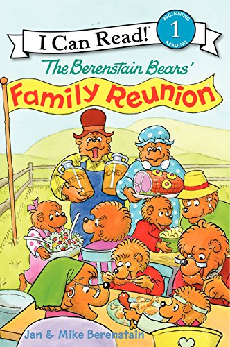 The Berenstain Bears' Family Reunion (I Can Read Level 1) ()