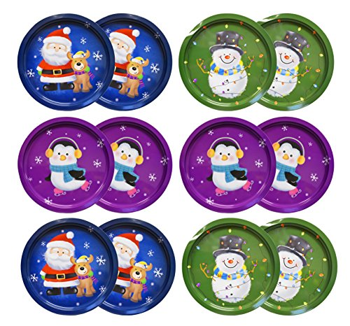 (Set Of 12 Holiday Christmas 12
