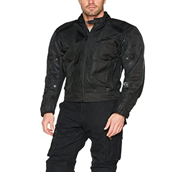 6a8f4a8a287 Bikers Gear Australia Chicane Lightweight Summer Air Flow Mesh Vented Motorcycle  Jacket with CE 1621-