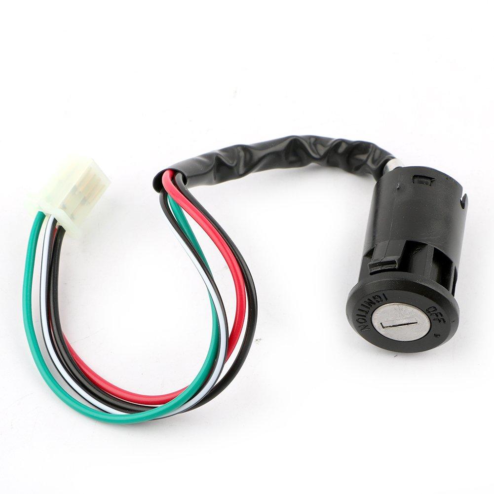 Pasen Povor 4 Pins Ignition Key Switch for 50 70 110 125CC Dirt Bike ATV Taotao Sunl Chinese Pocket Bike