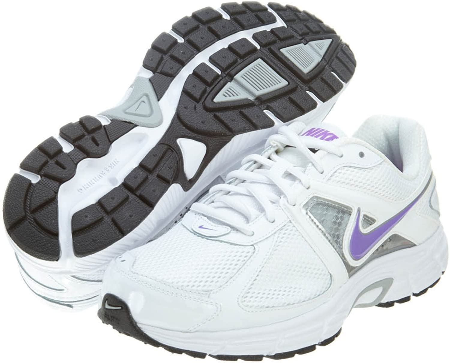 Ventilación sonido odio  Nike Dart 9 Womens White Wide Mesh Running Shoes Size 6.5 UK UK 6.5:  Amazon.co.uk: Shoes & Bags