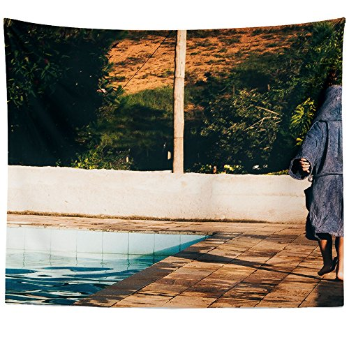 Westlake Art - Pool Photography - Wall Hanging Tapestry - Picture Photography Artwork Home Decor Living Room - 68x80 Inch (C7CA9)