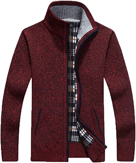 Nanquan Men Long Sleeve Plaid Print Button up Slim Contrast Inner Shirt