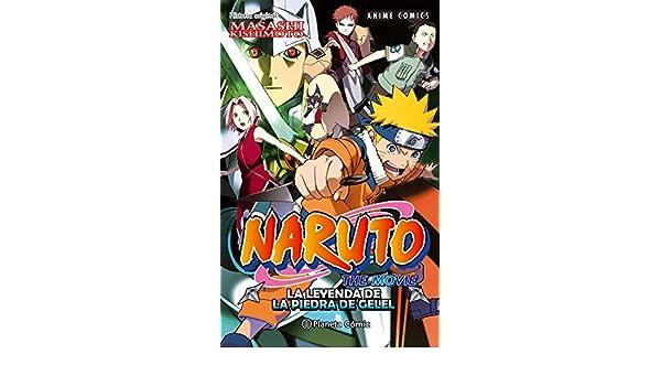 Naruto Anime Comic nº 03 La leyenda de la piedra de Gelel ...
