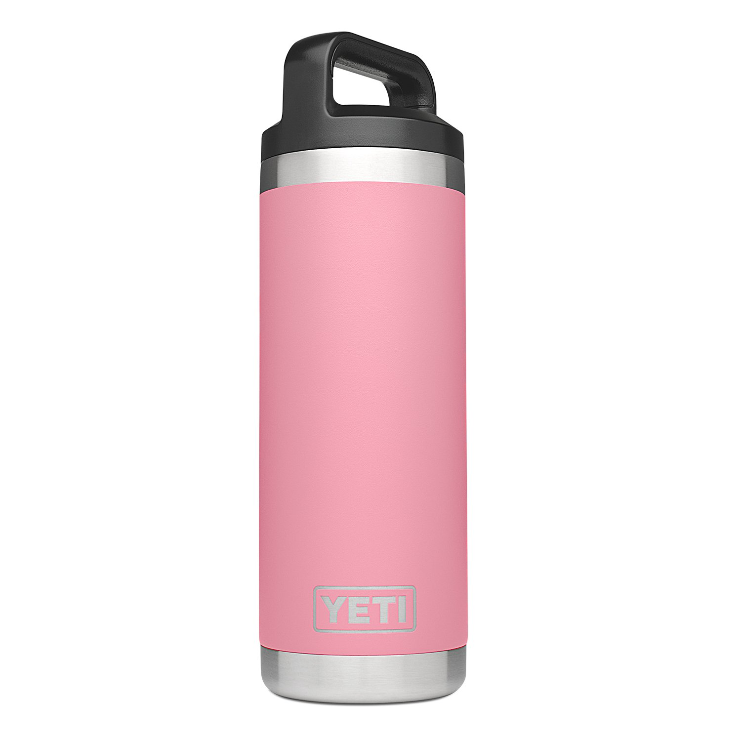 YETI Rambler 18oz Vacuum Insulated Stainless Steel Bottle with Cap (Pink)