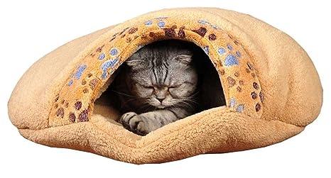 vadooll® extracálido Gatos Perros cama Hang Qiao Gatos caja Gatos Dormir cueva Manta Cojín Invierno