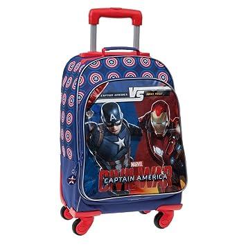 Marvel Versus Mochila Escolar, 31.58 litros, Color Azul: Amazon.es: Equipaje