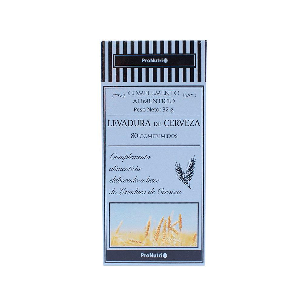 ProNutri Levadura de Cerveza - 4 Paquetes de 80 Cápsulas ...