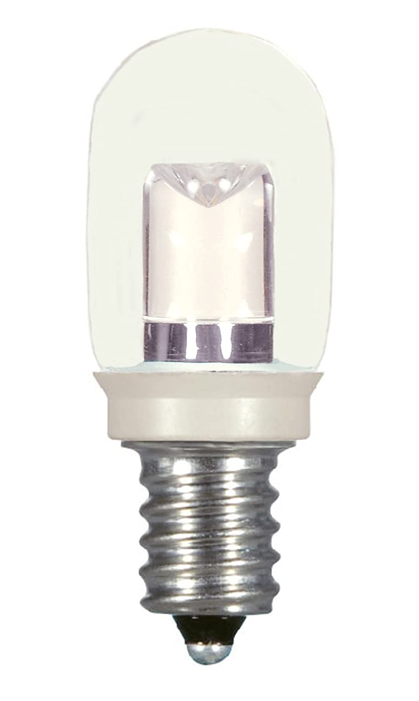 1.2W Dysmio Lighting 4-Pack, White LED S11 2700K Medium Base Light Bulb