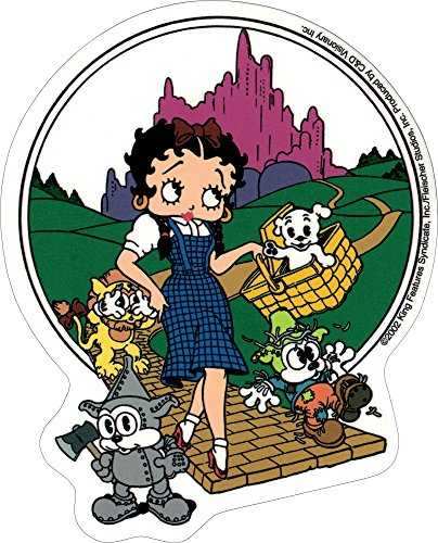 Betty Boop Wizard Of Oz With Puppies (Betty Boop Decals)