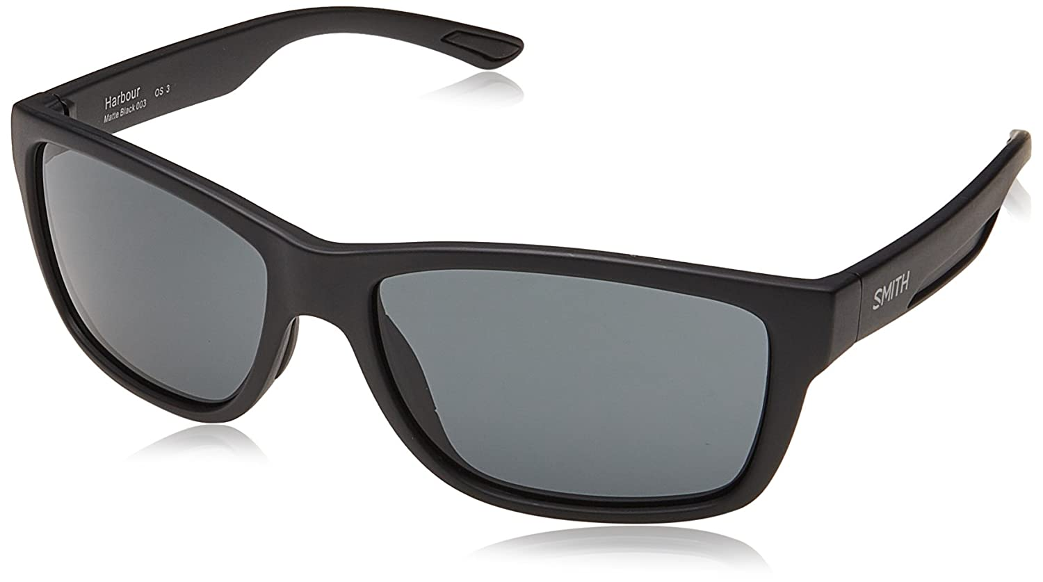 Smith Harbour IR 003 58 Gafas de Sol, Negro (Matt Black/Grey Bluee), Hombre