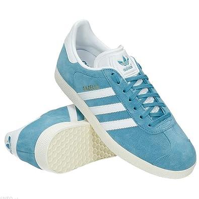 adidas Originals Gazelle Blue Mens Trainers (8.5 UK): Amazon