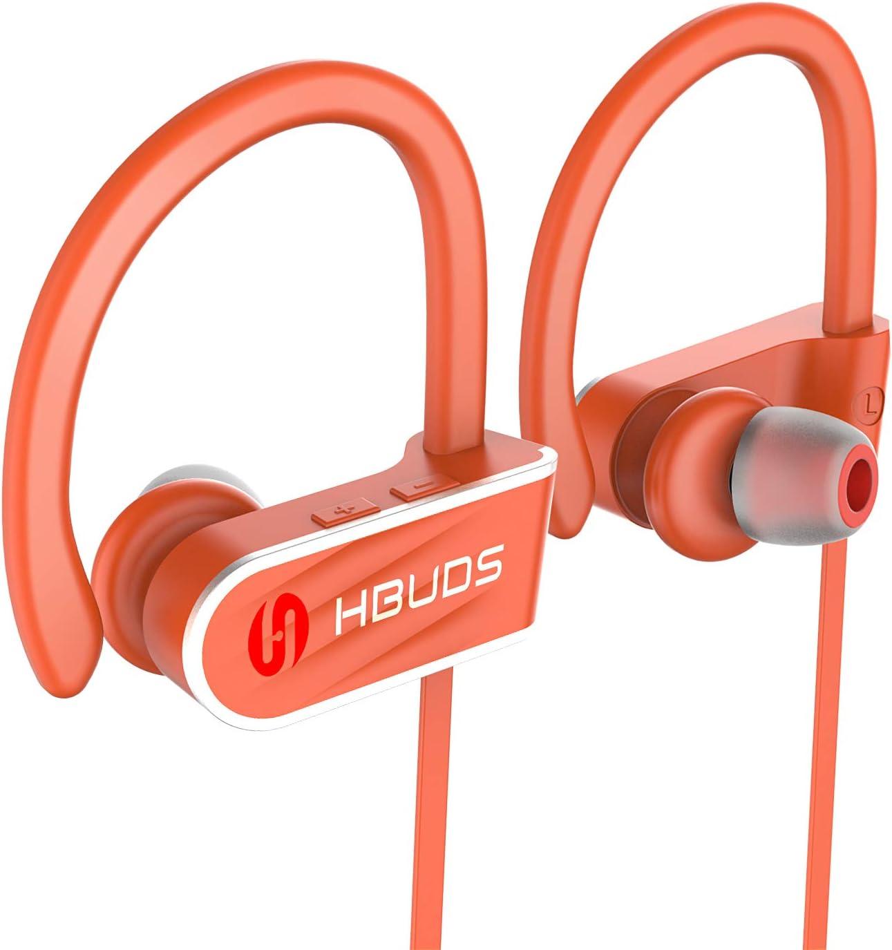 huawei Bluetooth Kopfh/örer 4.1 SportKopfh/örer In-Ear mit Mikrofon IPX7 Wasserdicht 8-9 Stunden Wiedergabe f/ür Gym Cycling Workout f/ür iPhone Samsung Android usw