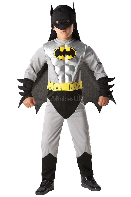 Rubies 3881823 - Disfraz infantil de Batman Metallic Deluxe: Amazon.es: Juguetes y juegos
