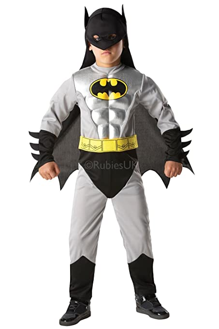 Amazon.com: 3-4 Years Boys Batman Costume With Armour: Toys ...