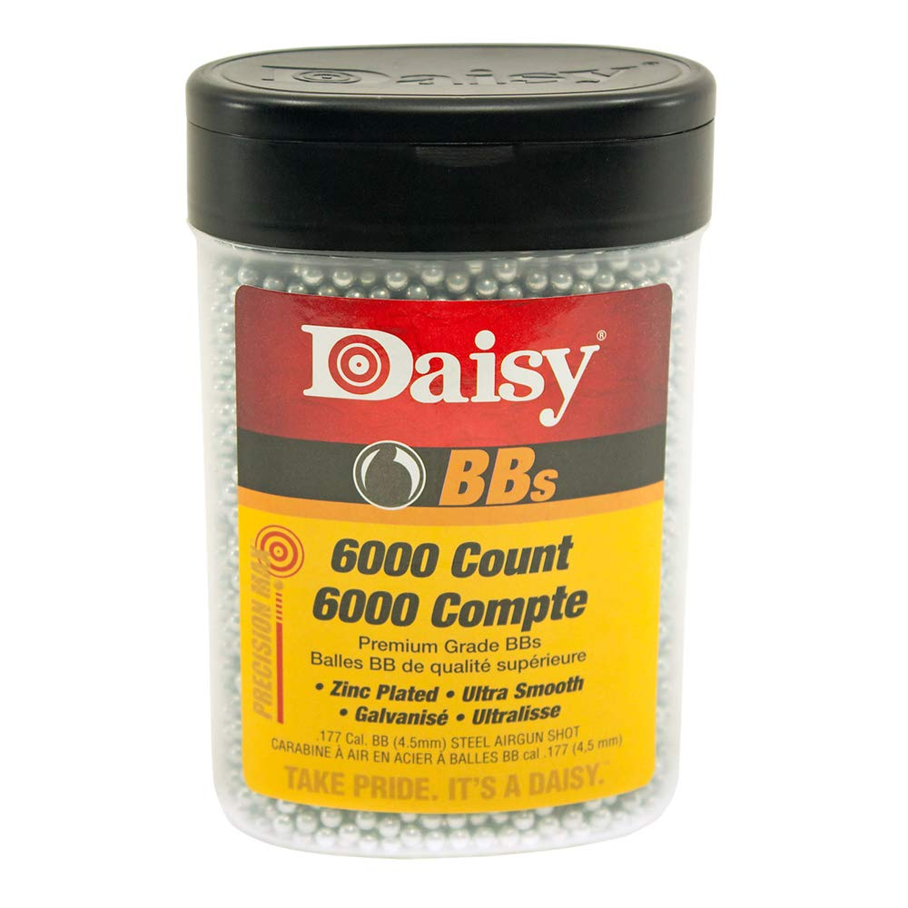 Daisy Ammunition and CO2 60 6000 ct BB Bottle