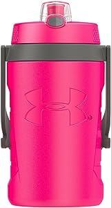 Under Armour Sideline 64 Ounce Water Jug, Rebel Pink