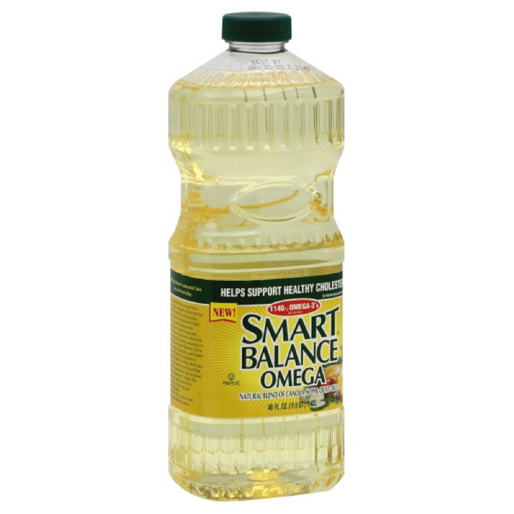 Smart Balance Omega Blend Oil, 48-Ounce (Pack of 3)