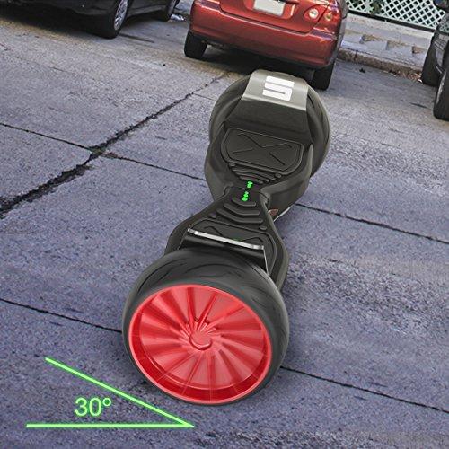 "EPIKGO SPORTS PLUS Balance Board Self Hover Smart Boards w/ Bluetooth Self Balancing Scooter - UL2272 Certified, All-Terrain 8.5"" Wheels, 400W Dual-Motor, LG Smart Battery, Hoover Over Tough Roads"