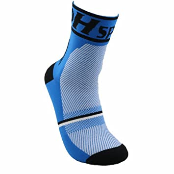 SunBeter Calcetines de Verano Calcetines Coolmax de Hombres Suaves y Transpirables para Correr Baloncesto al Aire Libre Sport-1 par (Azul): Amazon.es: ...