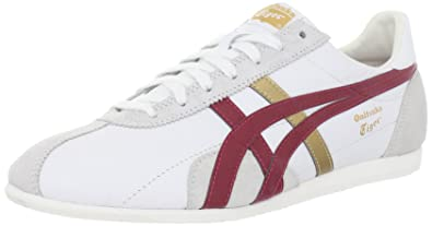 best service fbb47 9e900 ASICS Onitsuka Tiger Runspark Le Shoe,White/Red,9 M US ...