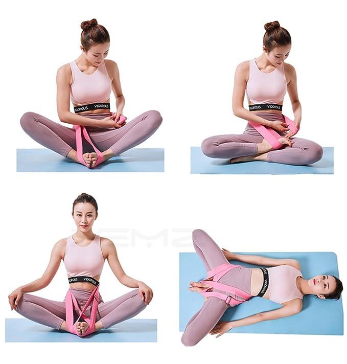 Amazon.com: XEMZ - Correa elástica para pilates de ballet de ...