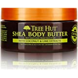 Tree Hut 24 Hour Intense Hydrating Shea Body Butter Coconut Lime, 7oz, Hydrating Moisturizer with Pure Shea Butter for…