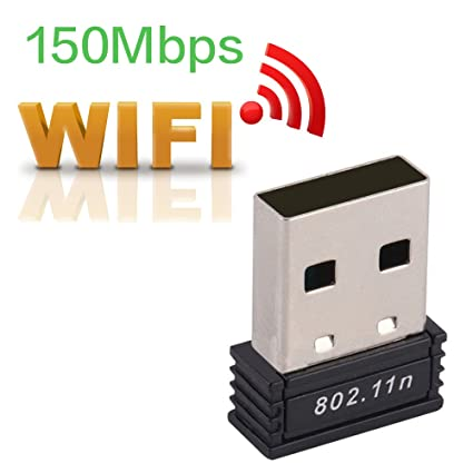 JISSDO USB WiFi Adapter Wireless Network Card 802 11 n/g/b 150Mbps for  Desktop/Laptop/PC, Support Windows macOS Linux