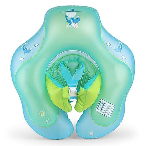 DSFGHE Anillo De Natación Bebé Antirrobo Cuello Collar Bebé 0-6 Años Anillo De Natación
