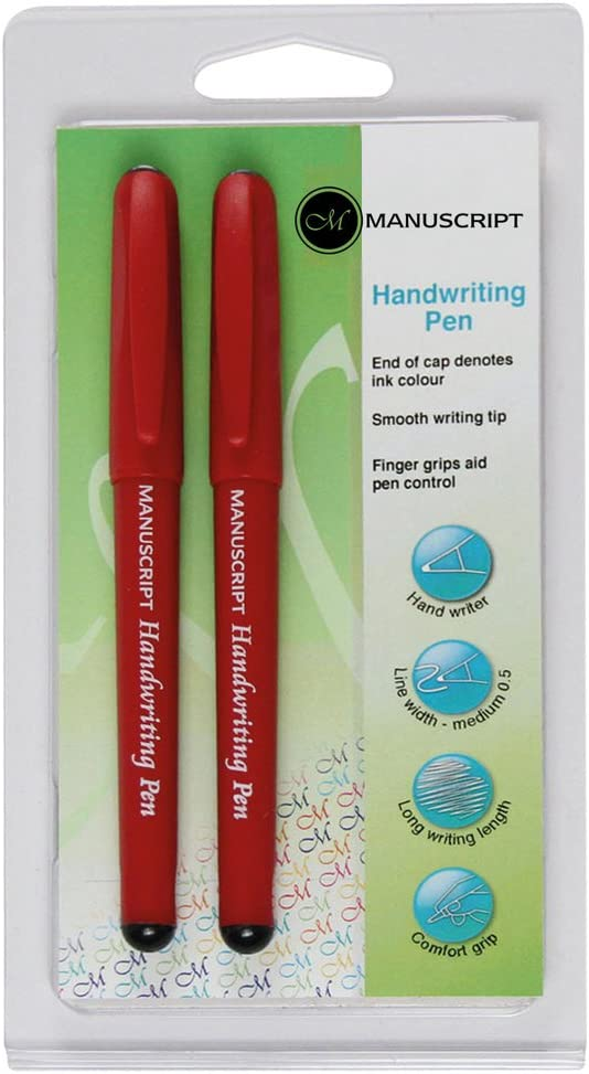 Manuscript Pen Handwriters Twin Pack, Black by Manuscript Pen