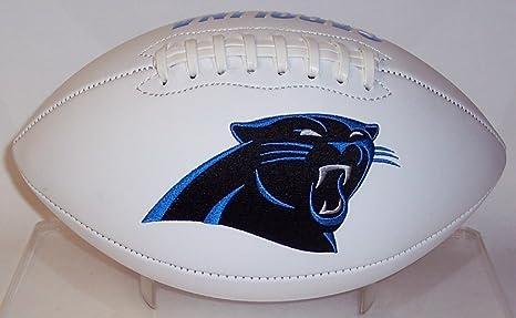 newest ea5c0 1f13b Amazon.com: Carolina Panthers Embroidered Logo Signature ...