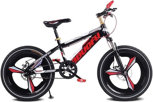 CWCW Bicicleta para Niños Bicicleta De Montaña, 16 Pulgadas, Freno ...