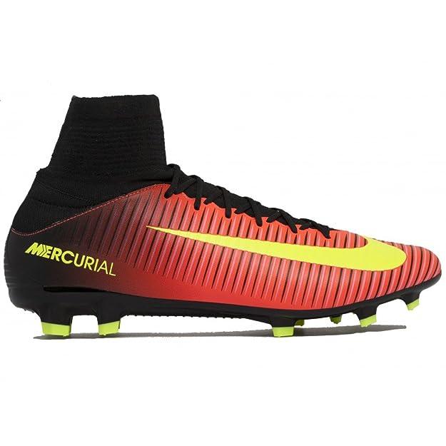 Nike Mercurial Victory VI AG-Pro, Scarpe da Calcio Uomo, Arancione (Naranja (Total Crimson/Vlt-Blk-Pnk Blst)), 45 EU
