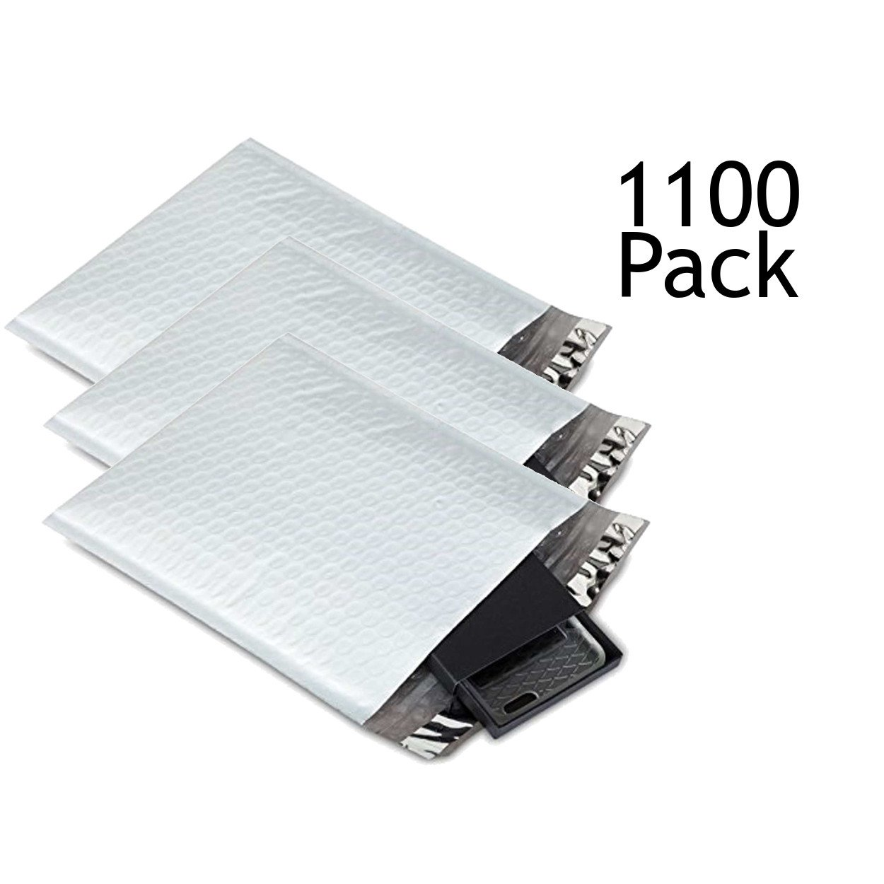SVI Sales 10.5'' x 16'' Padded Self Seal Bubble Lined Poly Mailers Ship with UPS, USPS, FedEx and More, Pack Poly Colored Poly Bubble Mailers