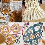 Crochet Hooks, DIY Craft Yarn Mixed Aluminum Handle