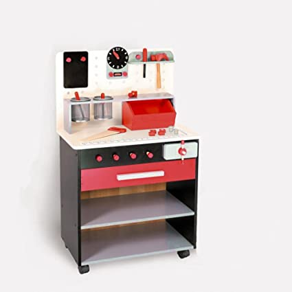 Amazon.com: Taller de juguetes banco taller juguetes niños ...