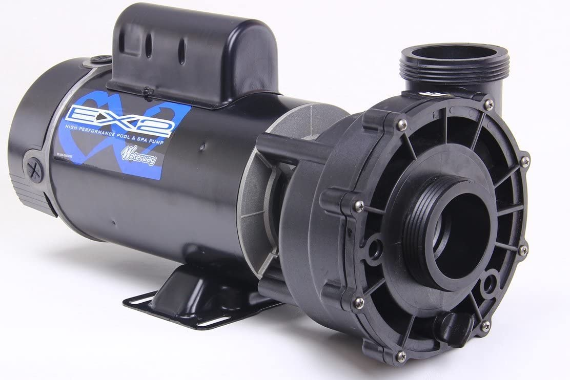 Waterway Plastics 3721621-1W 4.0Hp 2 Speed Pump