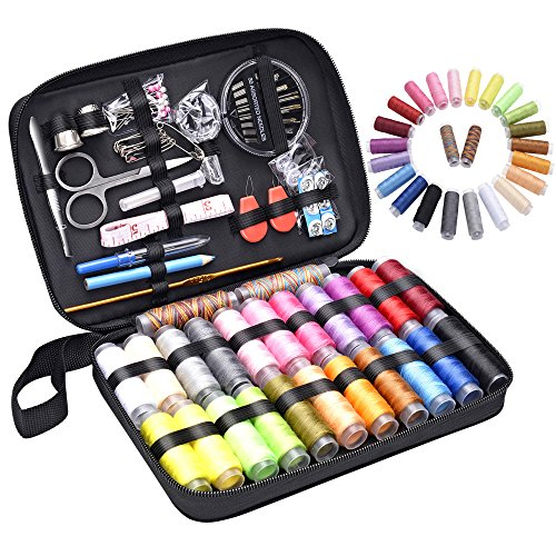 Sewing Kits for Travel and Sewing Emergency,Mending Kit Sewing Accessories and Supplies for Adults,Beginners,Students for Daily Hand Mending