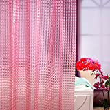 pale pink shower curtain. Wimaha Standard Waterproof Shower Curtain Liner Mildew Resistant  with Hooks and Metal Grommets Pink Peepholes Design Amazon com Curtains Liners Bathroom