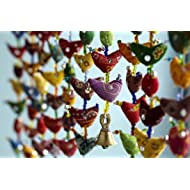 Paper High 20Bird Bell Tota Traditional Indian Hanging Decoration